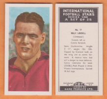 Liverpool Billy Liddell Scotland 17 KIF
